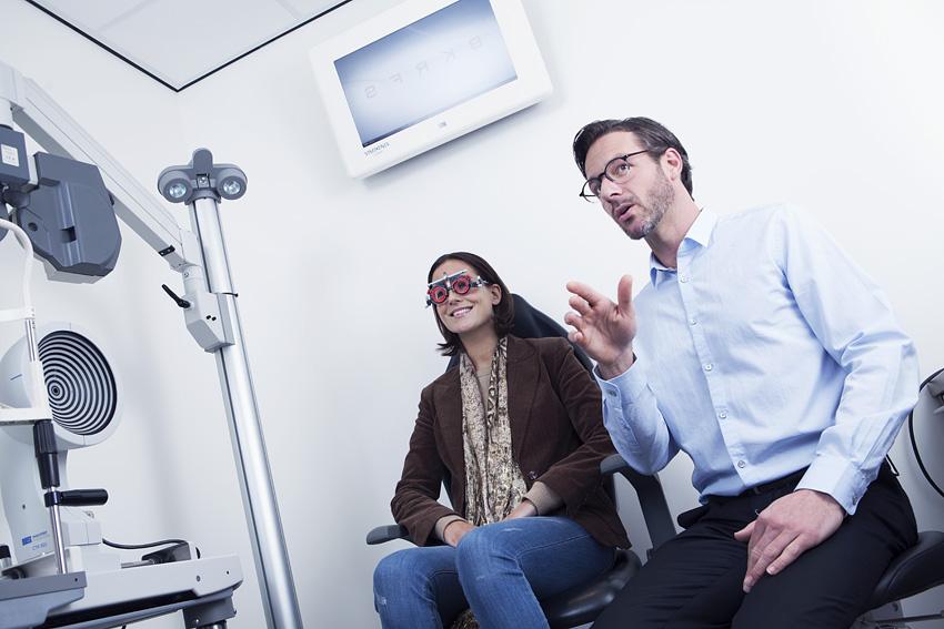 Zdrowe oczy, dobry wzrok: okulista, optometrysta, optyk